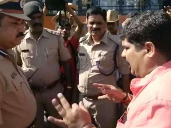 ಮಂಗಳೂರಿನಲ್ಲಿ ಬಿಜೆಪಿ ಶಾಸಕ, ಕೈ ಕಾರ್ಯಕರ್ತರ ನಡುವೆ ಘರ್ಷಣೆ